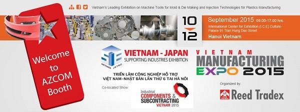azcom_vietnammanufacturingexpo2015